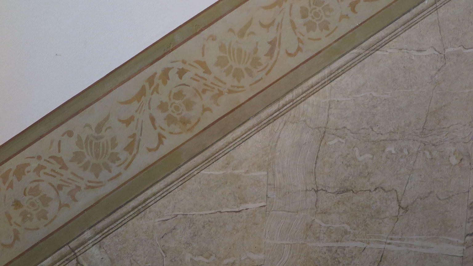 Architekt Koeln Denkmalschutz Sockelmalerei