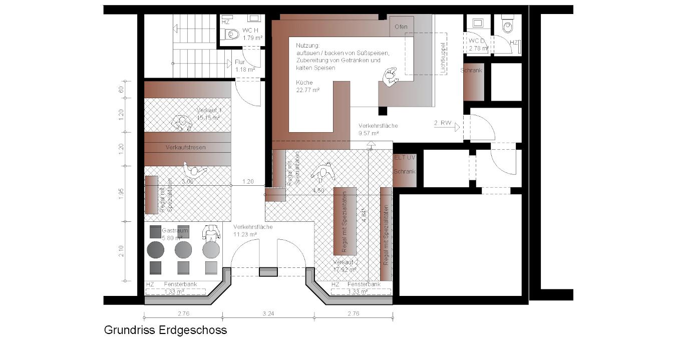 Architekt Koeln Gewerbebau Ladenbau