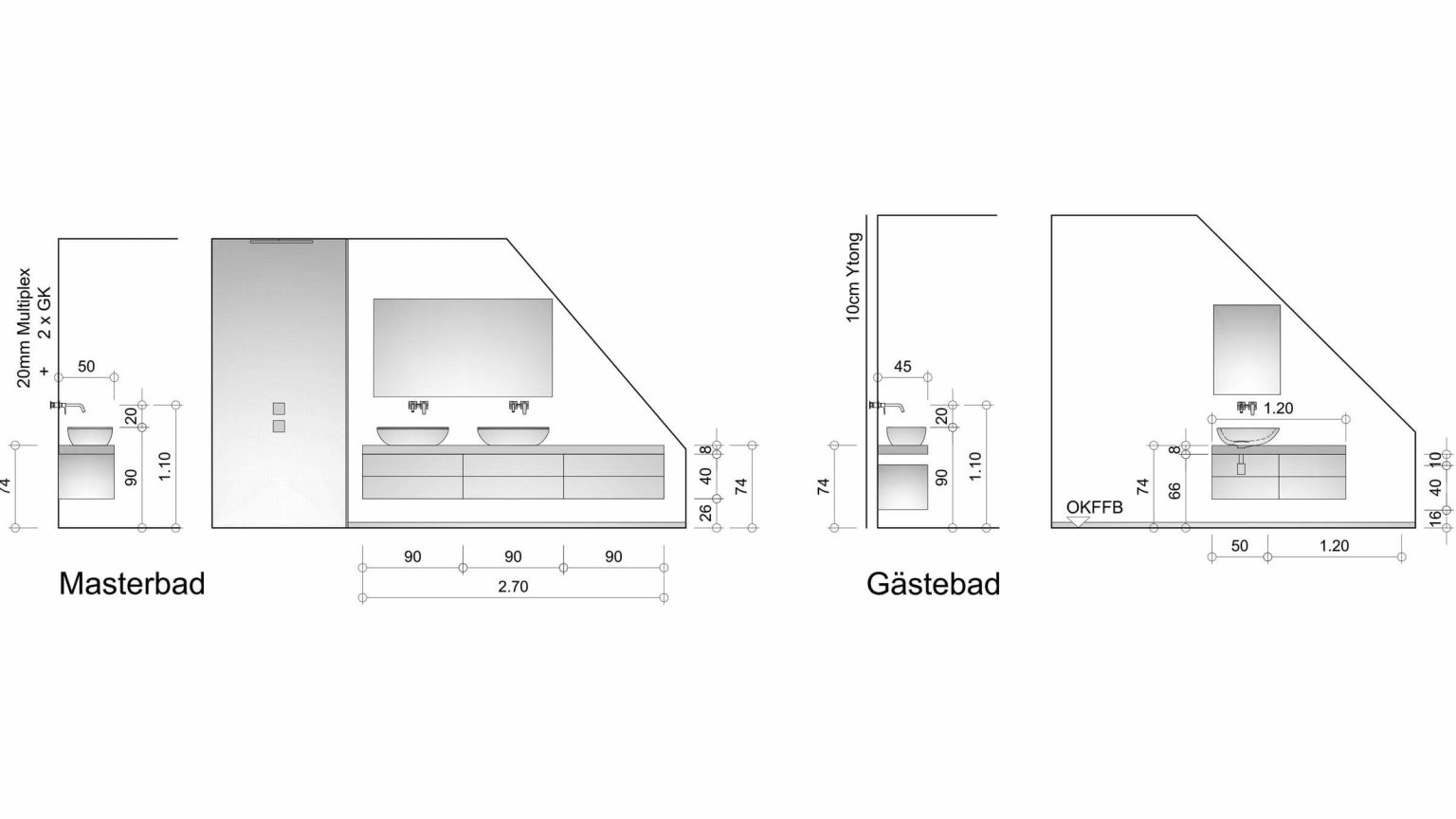 Architekt Koeln Grundriss Bad