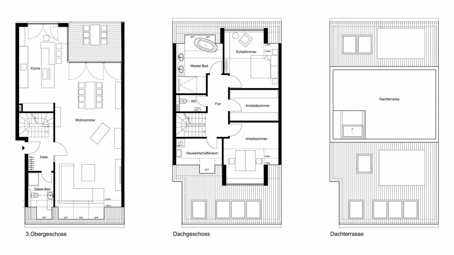 Architekt Koeln Grundriss Wohnung