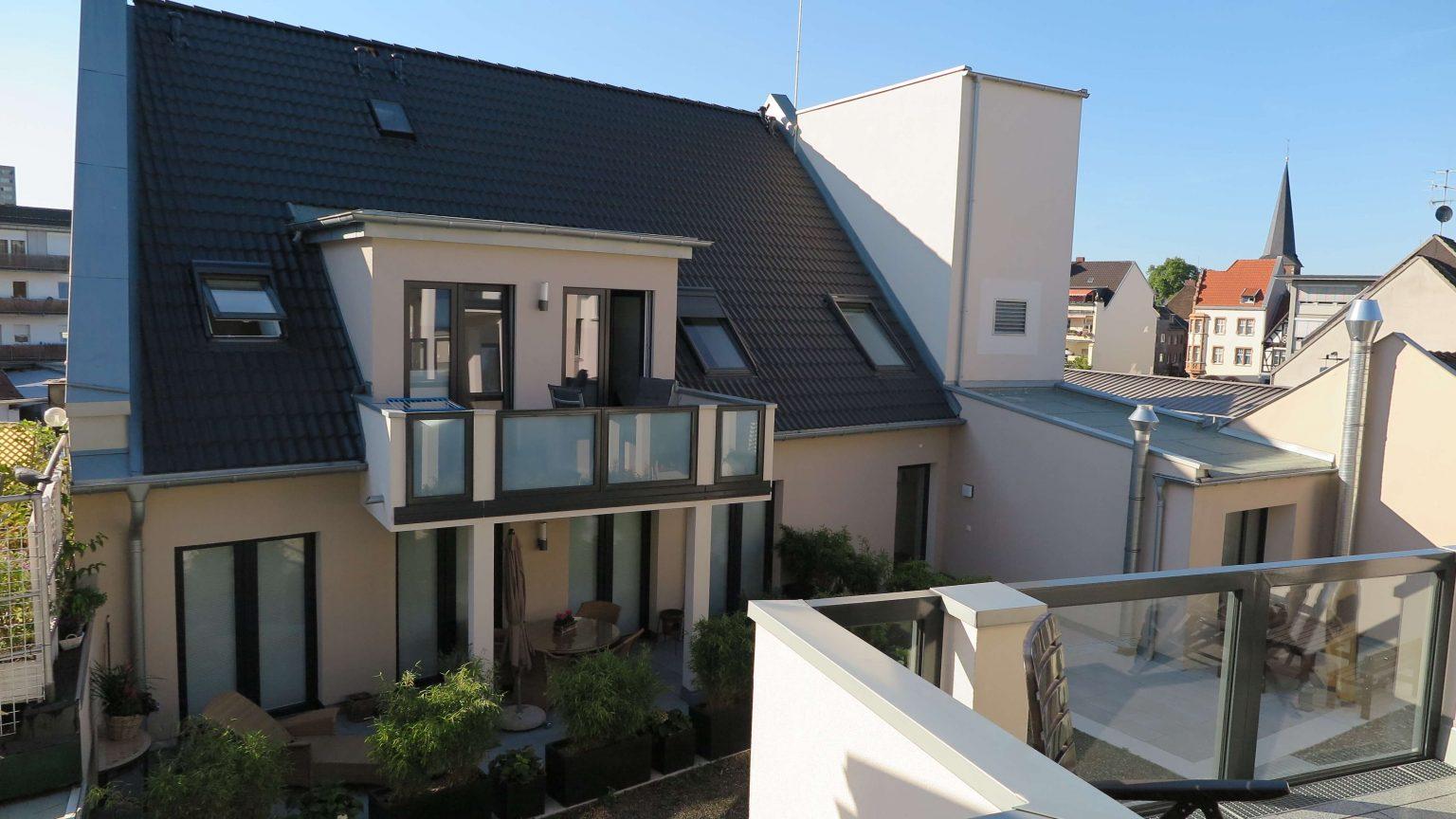 Architekt Koeln Sanierung Balkon