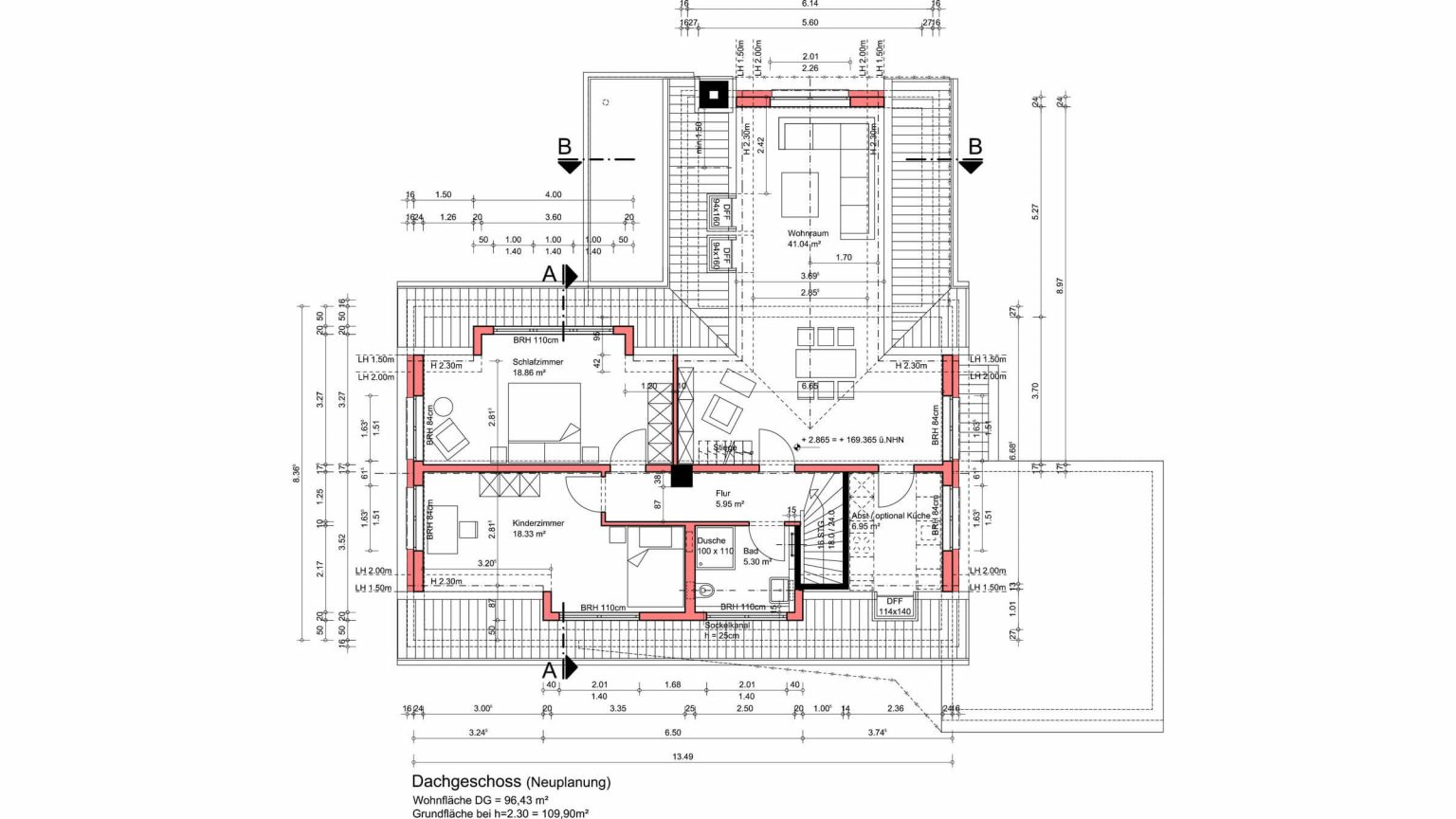 Architekt Koeln Umbau DG