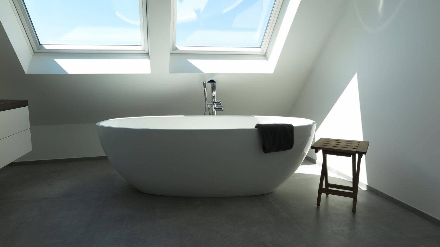 Architekt Koeln Wohnungsbau Badewanne