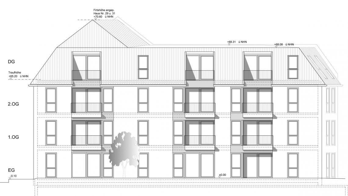 Architekt Koeln Wohnungsbau Mehrfamilienhaus