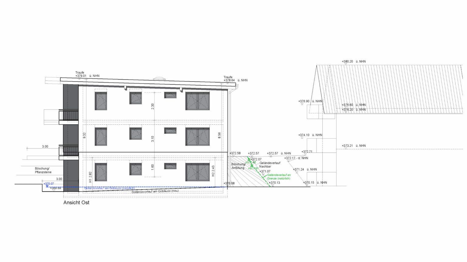 Architekt Koeln Wohnungsbau Ost