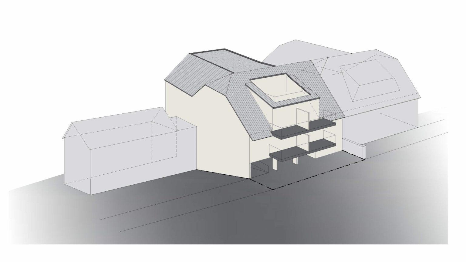 Architekt Koeln Wohnungsbau Perspektive