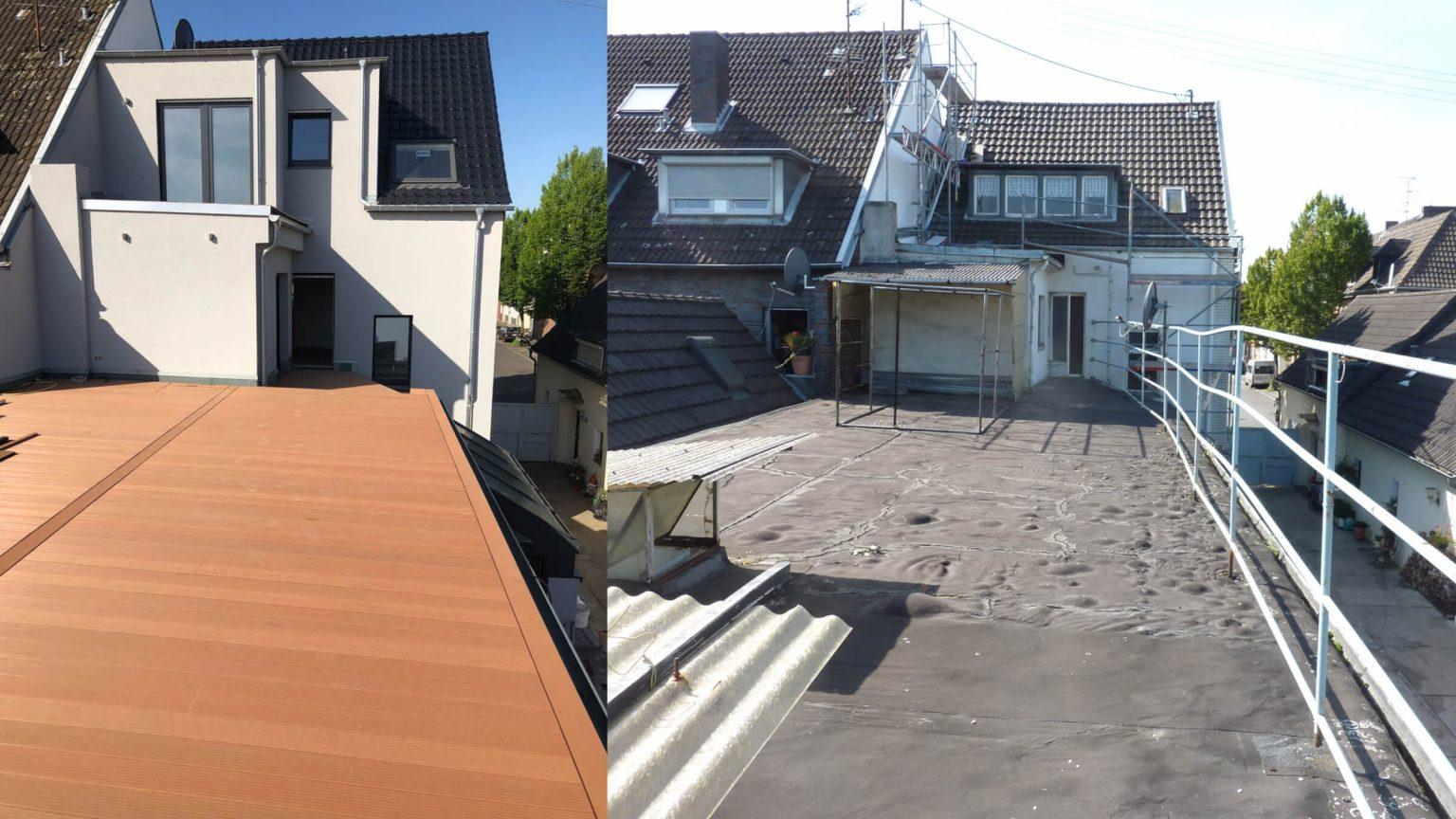 Architekt Umbau Sanierung Dachterrasse