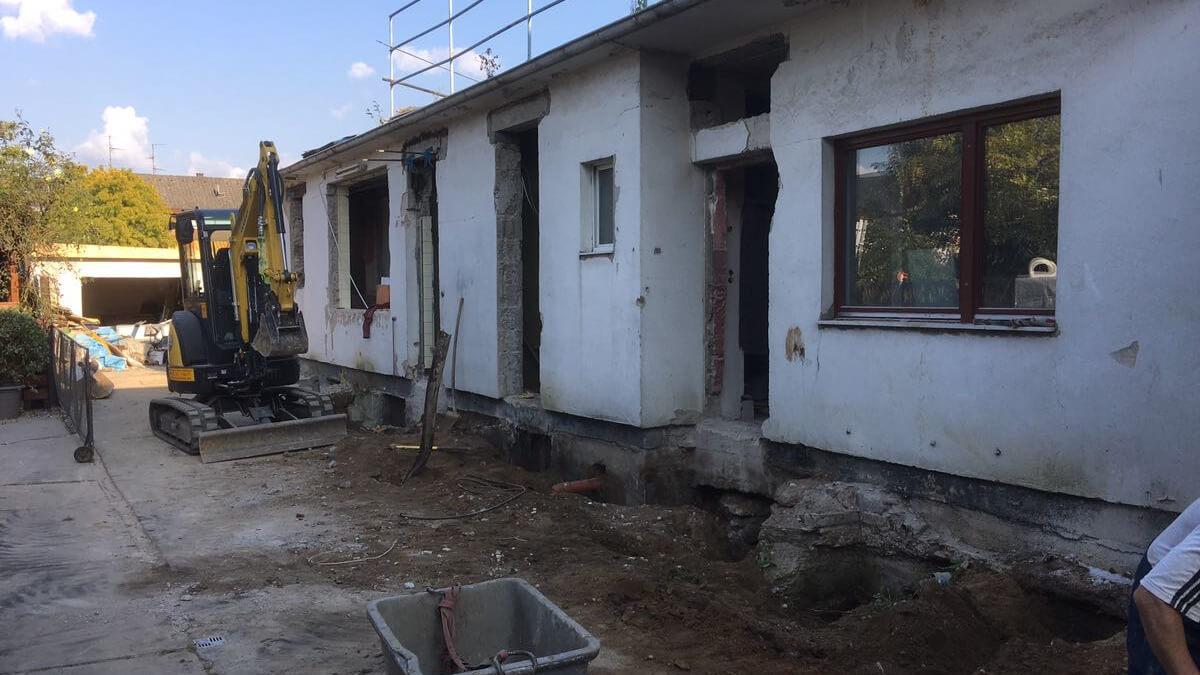Architekt Umbau Sanierung Hinterhaus