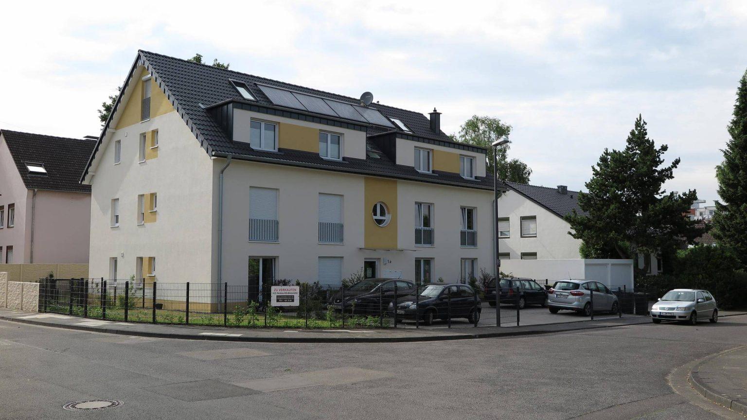 Architekt Wohnungsbau Straße